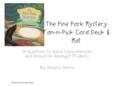 The Pine Park Mystery Fan & Pick Cards (Trophies 2nd grade)