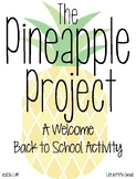 The Pineapple Project: A Back to School Activity DIGITAL a
