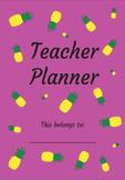 The Pineapple Teacher Planner