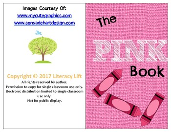 The Pink Book - Guided Reading Levels aa / A