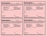 The Pink Slip (An Amazing Discipline Management Tool)