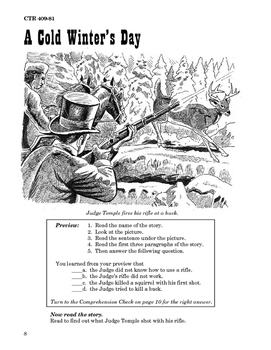 The Pioneers 10 Chapter Novel with Student Activities and Answer Keys