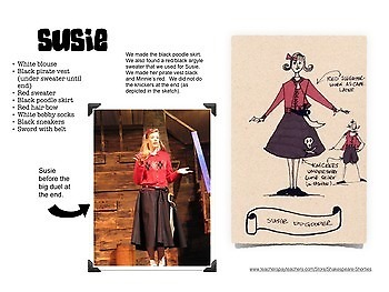 The Pirate Magnet School - Costume Design Packet