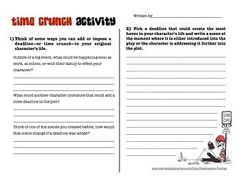 The Pirate Magnet School - Playwrighting Skills Packet