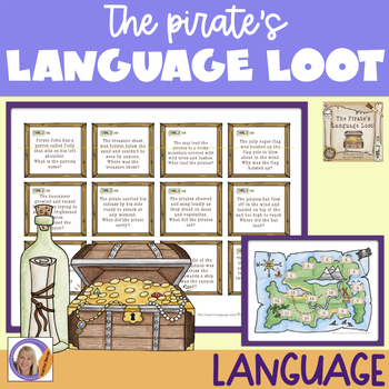 Language Game for speech and language therapy: The Pirate's Language Loot