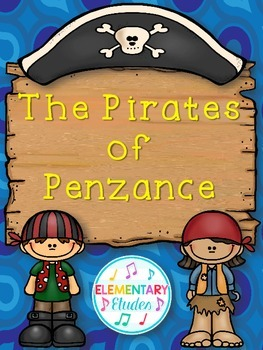 The Pirates of Penzance Activity Bundle