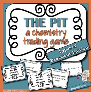 The Pit- A Chemistry Trading Game: Types of Reactions Edition