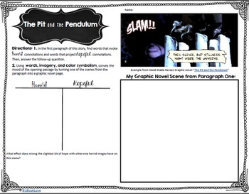 The Pit and the Pendulum Activities + Informational Text