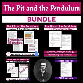 The Pit and the Pendulum Bundle [Print & Digital]