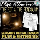The Pit and the Pendulum Sensory Detail Activities