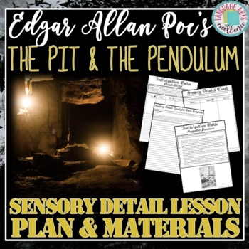 The Pit and the Pendulum - Sensory Details Activities
