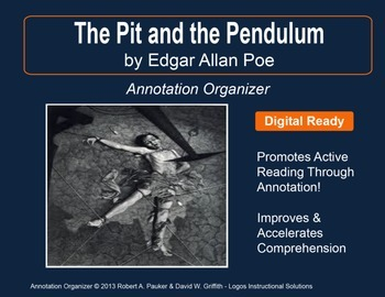 """""""Pit and the Pendulum"""" by Edgar Allan Poe: Annotation Organizer"""