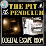 The Pit & the Pendulum Digital Escape Room for Distance Learning