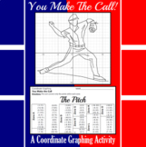 The Pitch - A Baseball Coordinate Graphing Activity