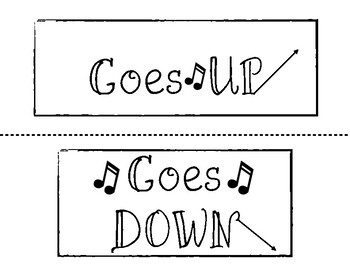 The Pitch Goes Up/Down/Stays the Same