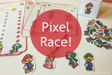 The Pixel Race game