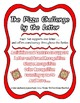 The Pizza Challenge by the Letter ~ Focus Alphabet B ~ Col