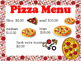 The Pizza Place -Pizza parlor dramatic play center