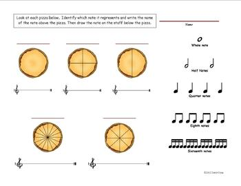 The Pizza Rap - An elementary music lesson in rhythm and fractions