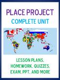 NO PREP ESL UNIT - The Place Project (lesson plans, PPTs,