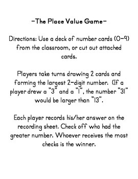 The Place Value