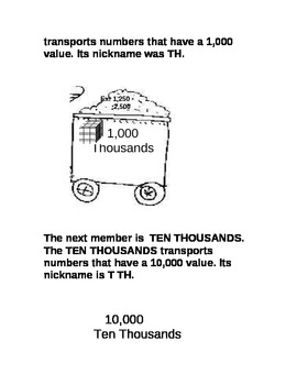 The Place Value Express Story