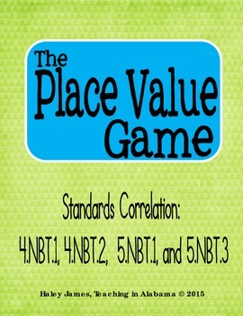 The Place Value Game
