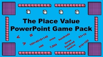 The Place Value PowerPoint Game Pack