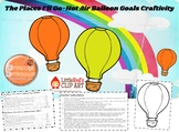 The Places I'll Go Balloon Goals Craftivity BUNDLE