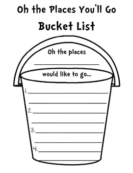 The Places You Want To Go Bucket List