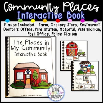 The Places in My City Interactive Book #2sale