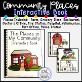 The Places in My Community Interactive Book