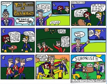 Canadian History Cartoon - The Plains of Abraham (Hunger Games Themed)
