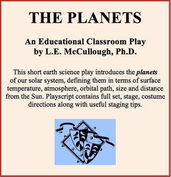 The Planets - An Earth Science Play
