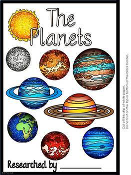 The Planets: An Interactive Flip Book