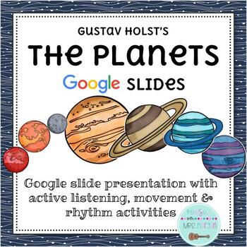 """""""The Planets,"""" Holst: Elementary Music Smart Board Lesson"""