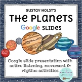 """The Planets,"" Holst: Elementary Music Smart Board Lesson"