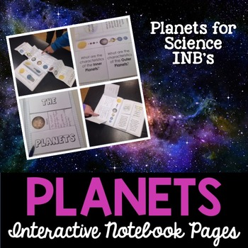 Solar System and Planets Interactive Notebook Pages