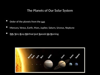The Planets PowerPoint