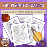The Planets Puzzles