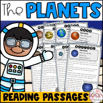 The Planets Reading Passages