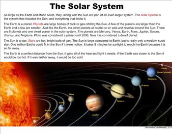 The Planets and Sun - A Third Grade PowerPoint Introduction