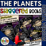 The Planets (by Holst) Digital Staggered Music Booklets (Distance Learning)