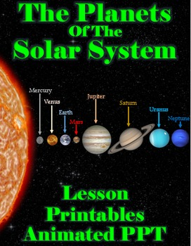 FREEBIE - The Planets of The Solar System (Lesson ...