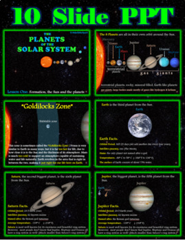 The Planets of The Solar System Power Point - FREEBIE!