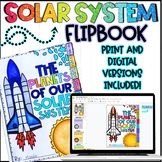 The Planets of our Solar System Research Flipbook - Distan