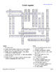Science in French: The Plant Cell or Cellule végétale (Worksheets)