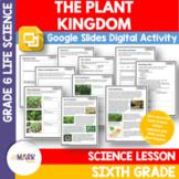 The Plant Kingdom Google Slides & Printable PDF Grade 6 Distance Learning