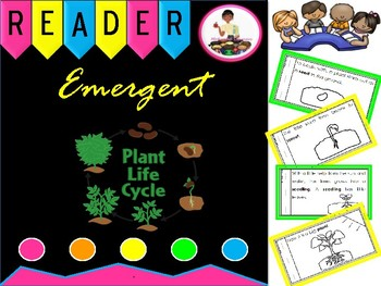 The Plant Life Cycle Emergent Reader