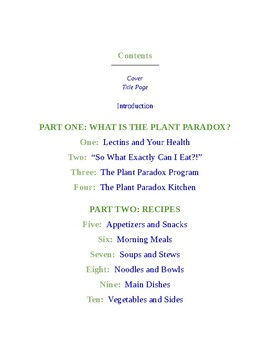 The Plant Paradox Cookbook: 100 Delicious Recipes to Help You Lose Weight, Heal